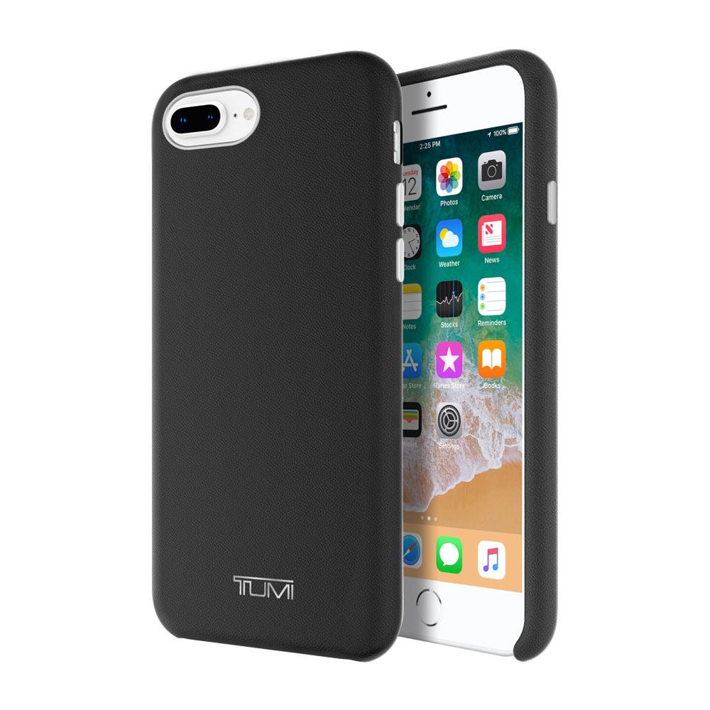 super popular 0884e 82241 TUMI Leather Wrap Case Apple iPhone 7 Plus and 8 Plus - Black